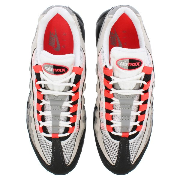 NIKE AIR MAX 95 ナイキ エア マックス 95  WHITE/SOLAR RED/MEDIUM GREY/NEUTRAL GREY|lowtex|02