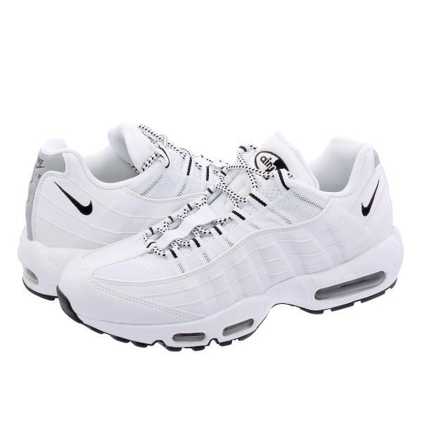 NIKE AIR MAX 95 ナイキ エア マックス 95 WHITE/BLACK/BLACK メンズ スニーカー 靴 ...