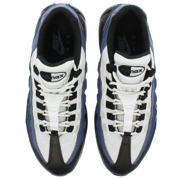 NIKE AIR MAX 95 ESSENTIAL ナイキ エア マックス 95 エッセンシャル BLACK/OBSIDIAN/NAVY BLUE/PURE PLATINUM|lowtex|02
