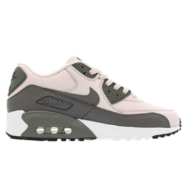 NIKE AIR MAX 90 LTR GS ナイキ エア マックス 90 レザー GS BARELY ROSE/GUNSMOKE/WHITE/BLACK