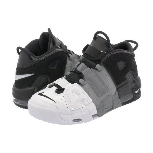 【ビッグ・スモールサイズ】 NIKE AIR MORE UPTEMPO 96 【TRI-COLOR】 ナイキ モア アップ テンポ  96 BLACK/BLACK/COOL GREY/WHITE|lowtex