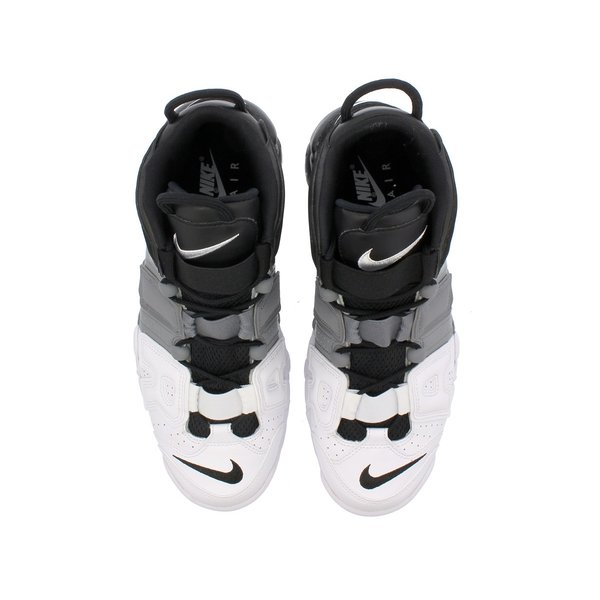 【ビッグ・スモールサイズ】 NIKE AIR MORE UPTEMPO 96 【TRI-COLOR】 ナイキ モア アップ テンポ  96 BLACK/BLACK/COOL GREY/WHITE|lowtex|02