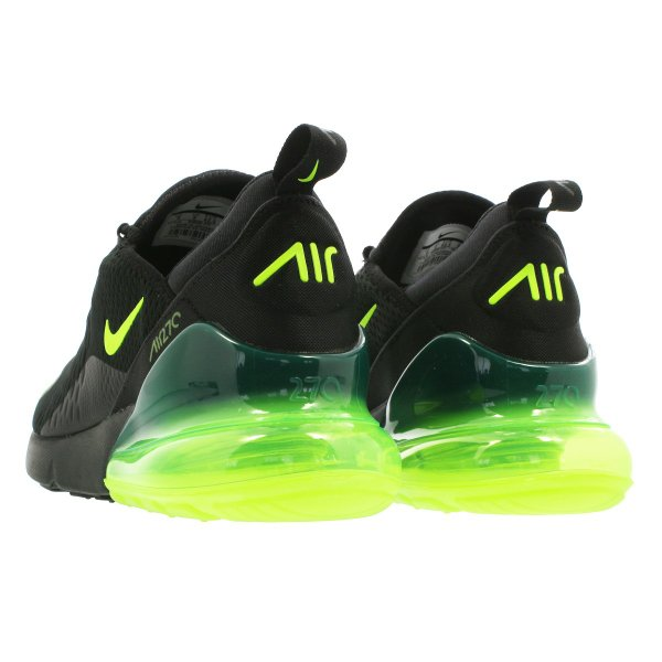 ddcb7280ee254 NIKE AIR MAX 270 ナイキ エア マックス 270 BLACK VOLT BLACK OIL GREY ah8050-017