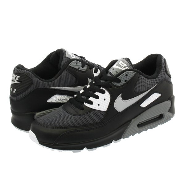 NIKE AIR MAX 90 ESSENTIAL ナイキ エア マックス 90 エッセンシャル BLACK/WOLF GREY/DARK GREY/COOL GREY|lowtex