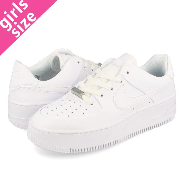 buy online 8ecc3 3e8a1 NIKE WMNS AIR FORCE 1 SAGE LOW ナイキ ウィメンズ エアフォース 1 セージ ロー WHITE  ...