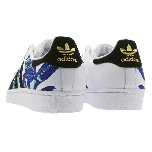 【大人気の女の子サイズ♪】 adidas SUPERSTAR W アディダス スーパースター W RUNNING WHITE/CORE BLACK/GOLD MET|lowtex|03