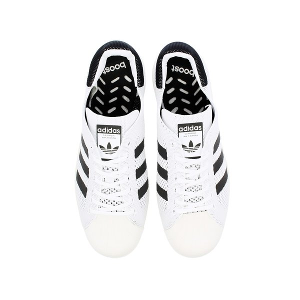 ce9c36893e4c ... adidas SUPERSTAR BOOST PK adidas Originals アディダス スーパースター ブースト PK  RUNNING WHITE CORE BLACK ...