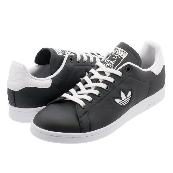 スニーカー メンズ レディース アディダス スタンスミス adidas STAN SMITH BLACK/WHITE/BLACK bd7452|lowtex