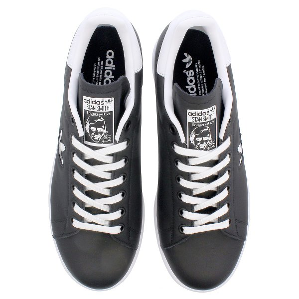 スニーカー メンズ レディース アディダス スタンスミス adidas STAN SMITH BLACK/WHITE/BLACK bd7452|lowtex|02