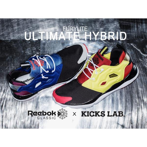 スニーカー メンズ レディース リーボック クラシック × キックスラボ フューリーライト Reebok CLASSIC × KICKS LAB. FURYLITE ULTIMATE HYBRID|lowtex