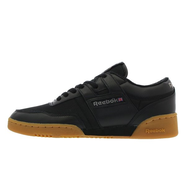 f5c09defd600e ... Reebok WORKOUT 85 ARCHIVE リーボック ワークアウト 85 アーカイブ BLACK RED CARBON GUM ...