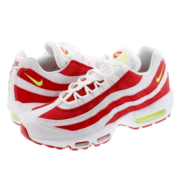 NIKEAIRMAX95 MARINEDAY ナイキエアマックス95WHITE/VOLT/WHITE/UNIVERSITYRED