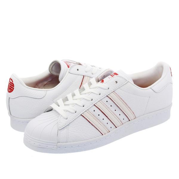 adidas SUPER STAR 80s CNY 【adidas Originals】 アディダス オリジナルス  スーパースター 80s CNY RUNNING WHITE/RUNNING WHITE/SCARLET|lowtex