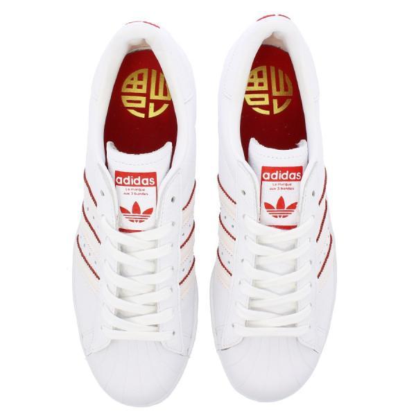 adidas SUPER STAR 80s CNY 【adidas Originals】 アディダス オリジナルス  スーパースター 80s CNY RUNNING WHITE/RUNNING WHITE/SCARLET|lowtex|02