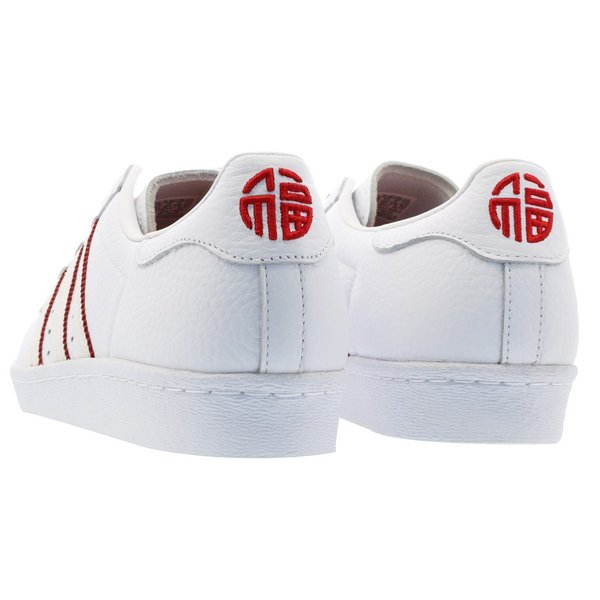 adidas SUPER STAR 80s CNY 【adidas Originals】 アディダス オリジナルス  スーパースター 80s CNY RUNNING WHITE/RUNNING WHITE/SCARLET|lowtex|03