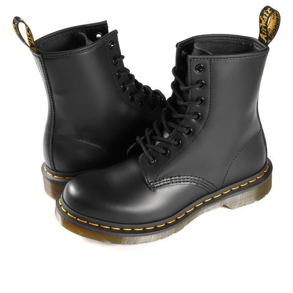 Dr.Martens 8HOLE BOOT 1460W ドクターマーチン レディース 8ホール ブーツ BLACK(R11821006)/ CHERRY(R11821600)|lowtex|02