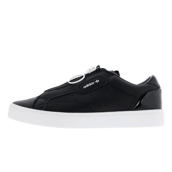 adidas SLEEK Z W アディダス スリーク ゼット ウィメンズ CORE BLACK/CORE BLACK/CRYSTAL WHITE ef0695