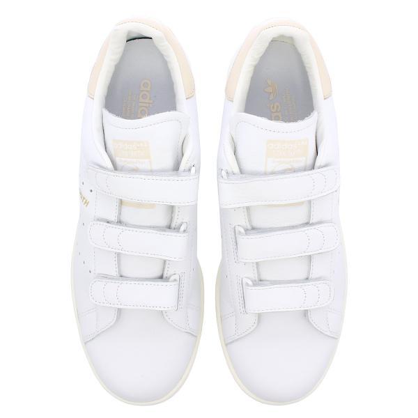 adidas STAN SMITH CF 【adidas Originals】 アディダス スタンスミス CF RUNNING WHITE/RUNNING WHITE/LINEN f36573|lowtex|02