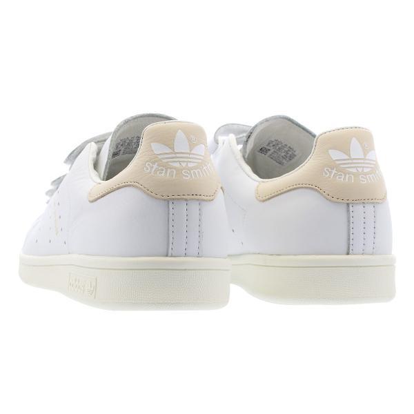 adidas STAN SMITH CF 【adidas Originals】 アディダス スタンスミス CF RUNNING WHITE/RUNNING WHITE/LINEN f36573|lowtex|03
