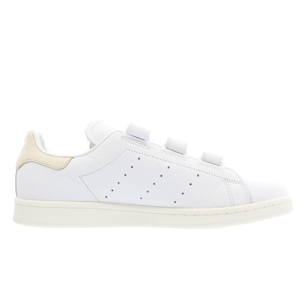 adidas STAN SMITH CF 【adidas Originals】 アディダス スタンスミス CF RUNNING WHITE/RUNNING WHITE/LINEN f36573|lowtex|05