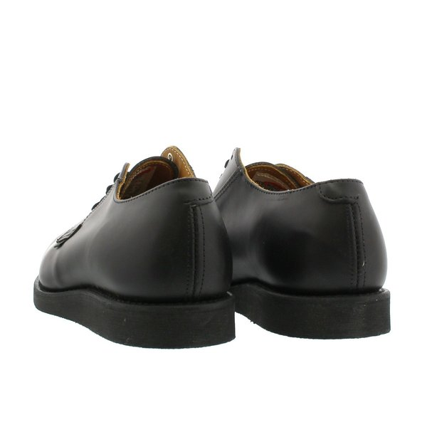 RED WING 101 POSTMAN BOOT OXFORD 【MADE IN U.S.A.】 レッドウイング ポストマン ブーツオックス フォードBLACK 【Dワイズ】 メンズ 靴|lowtex|03