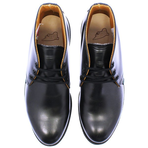 RED WING 9196 POSTMAN BOOT CHUKKA 【MADE IN U.S.A.】 レッドウイング ポストマン ブーツ チャッカ BLACK 【Dワイズ】|lowtex|02