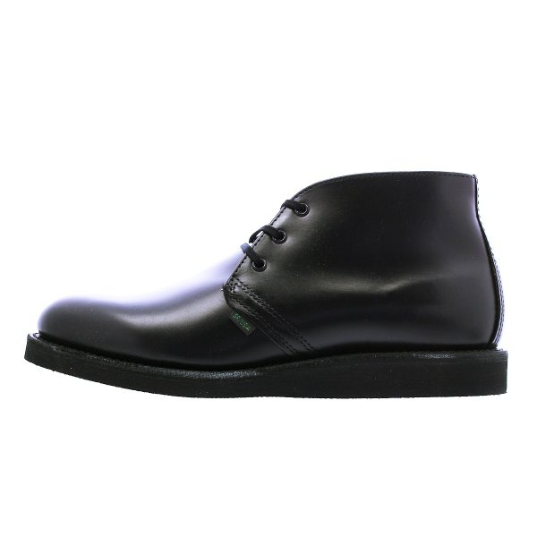 RED WING 9196 POSTMAN BOOT CHUKKA 【MADE IN U.S.A.】 レッドウイング ポストマン ブーツ チャッカ BLACK 【Dワイズ】|lowtex|04