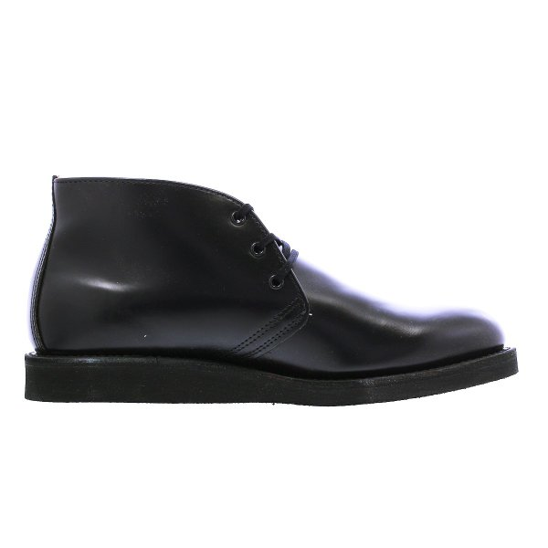 RED WING 9196 POSTMAN BOOT CHUKKA 【MADE IN U.S.A.】 レッドウイング ポストマン ブーツ チャッカ BLACK 【Dワイズ】|lowtex|05