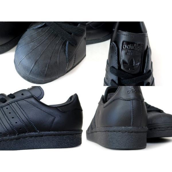 adidas SUPER STAR 80s メンズレディースアディダス オリジナルス  スーパースター 80s CORE BLACK/CORE BLACK/WHITE|lowtex|05