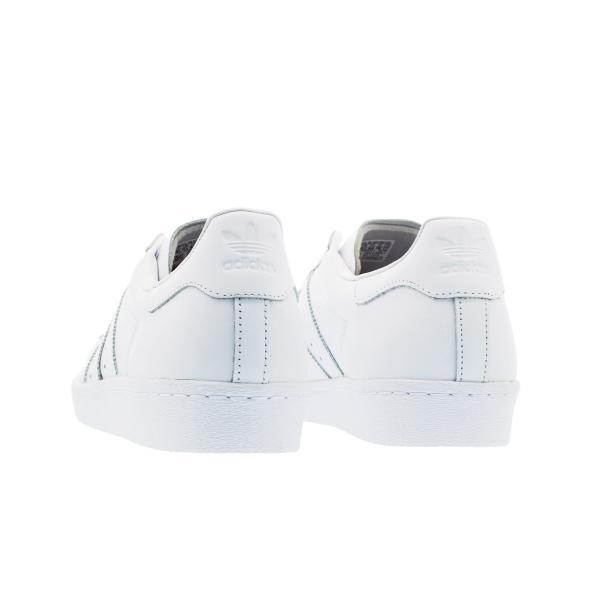 adidas SUPER STAR 80s アディダス オリジナルス スーパースター 80s WHITE/WHITE メンズ レディース スニーカー シューズ s79443|lowtex|03