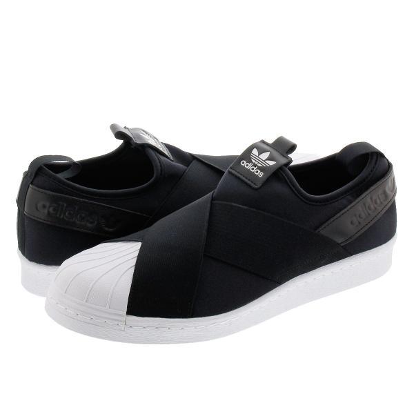476e05fd259afb スニーカー レディース アディダス スーパースター スリッポン ウィメンズ adidas SUPERSTAR Slip On W adidas  Originals BLACK/ ...