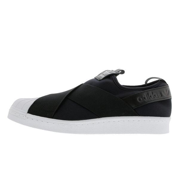 スニーカー レディース アディダス スーパースター スリッポン ウィメンズ adidas SUPERSTAR Slip On W adidas Originals BLACK/WHITE|lowtex|04