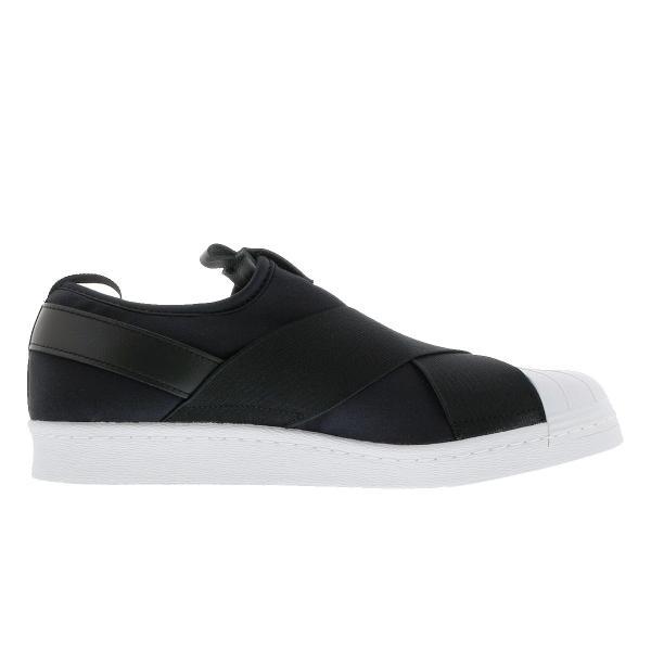 スニーカー レディース アディダス スーパースター スリッポン ウィメンズ adidas SUPERSTAR Slip On W adidas Originals BLACK/WHITE|lowtex|05