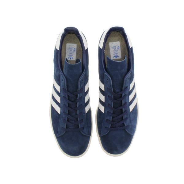 adidas CAMPUS 80S JAPAN PACK VNTG Originals メンズ アディダス キャンパス 80S ジャパン ビンテージ DARK BLUE/OFF WHITE スニーカー s82740|lowtex|02
