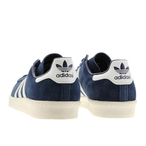 adidas CAMPUS 80S JAPAN PACK VNTG Originals メンズ アディダス キャンパス 80S ジャパン ビンテージ DARK BLUE/OFF WHITE スニーカー s82740|lowtex|03