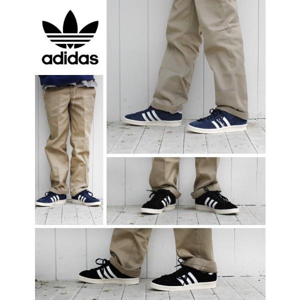 adidas CAMPUS 80S JAPAN PACK VNTG Originals メンズ アディダス キャンパス 80S ジャパン ビンテージ DARK BLUE/OFF WHITE スニーカー s82740|lowtex|06