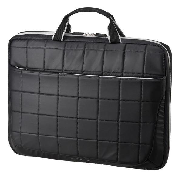 サンワサプライ 衝撃吸収PCケース(15.6インチワイド対応) ブラック BAG-P20BK2 他商品との同梱不可