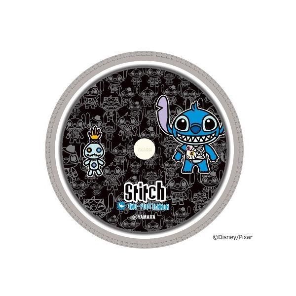 スポークカバー ディズニーキャラクター スティッチ(ブラック) /手動用 16インチ用 (2枚セット)