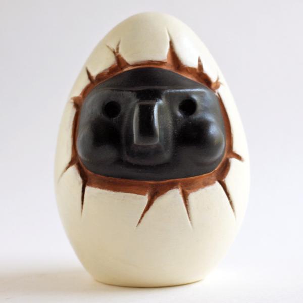 ナポリの幸運のお守り!プルチネッラの卵|lucania-arti
