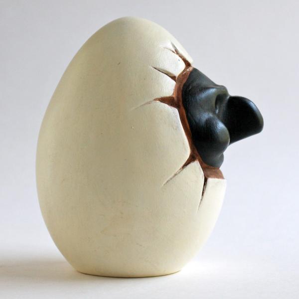 ナポリの幸運のお守り!プルチネッラの卵|lucania-arti|02