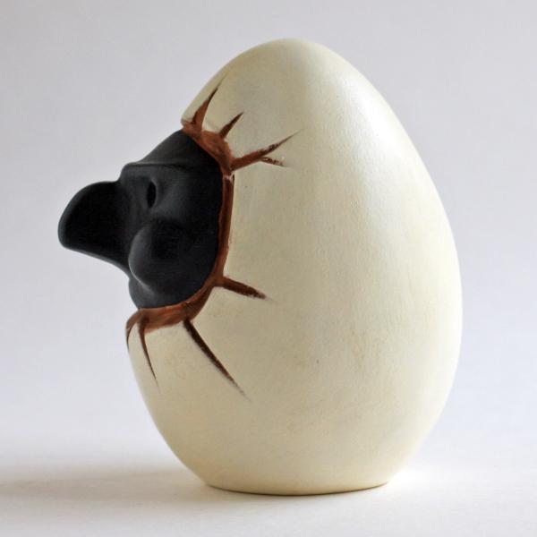 ナポリの幸運のお守り!プルチネッラの卵|lucania-arti|04
