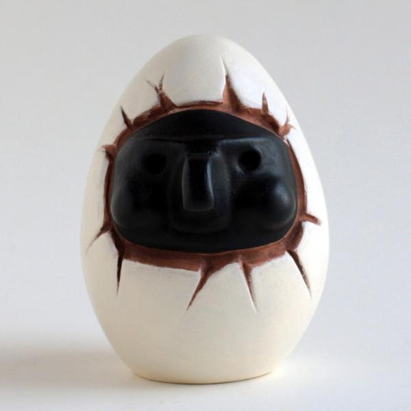 ナポリの幸運のお守り!プルチネッラの卵|lucania-arti|06
