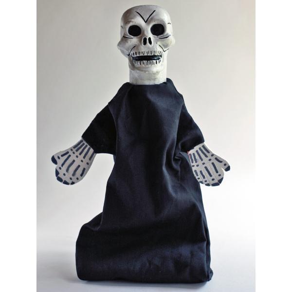 ナポリの幸運のお守り!どくろの指人形 lucania-arti