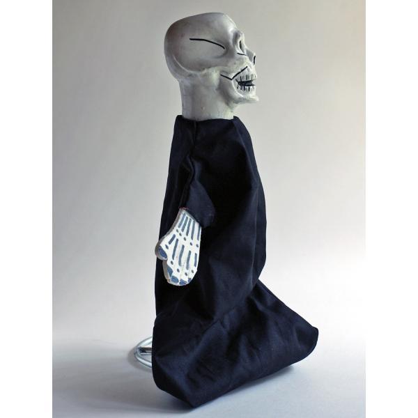 ナポリの幸運のお守り!どくろの指人形 lucania-arti 02