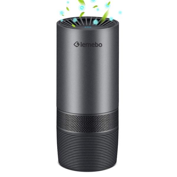 Lemebo 車載空気清浄機 イオン発生器 エアクリーナー USB超音波式小型 殺菌 脱臭 タバコ 花粉 PM2.5アレル物質対策 静音 U