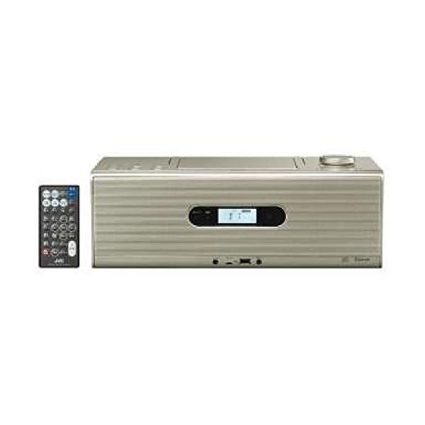 JVCケンウッド(ビクター) CDポータブルシステム(シャンパンゴールド) RD-W1-N