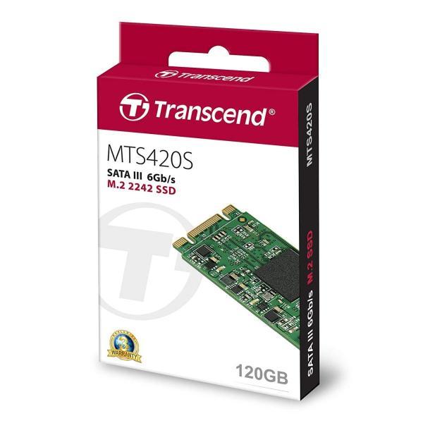 Transcend 3D TLC NAND採用 SSD 120GB M.2 2242 SATA-III 6Gb/s TS120GMTS420|lucia0322|05