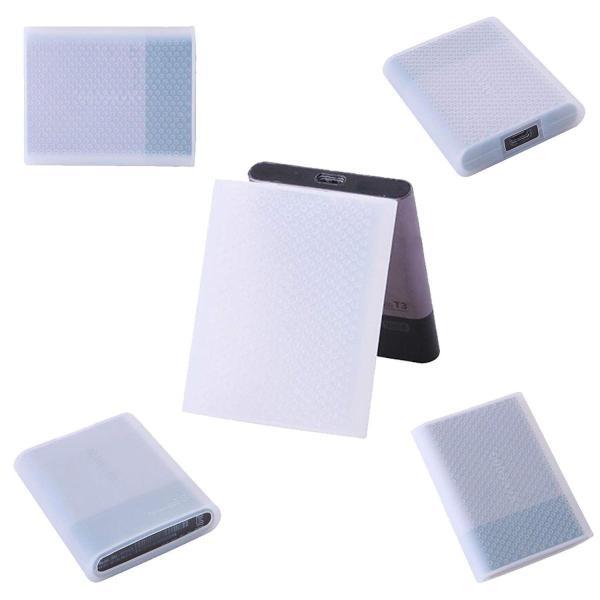 Samsung T1/T3/T5 シリーズ SSDに対応 収納 保護 外付け シリコンケース シリコン保護カバー ポータブル 防震/防塵/防|lucia0322|06