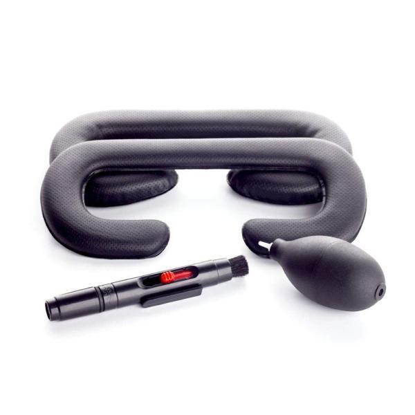 HTC Vive用 革材 フェイスクッション 18mm 6mm 2個セット VR MASK HTC VIVE フェイス クリーニングキット|lucia0322|07