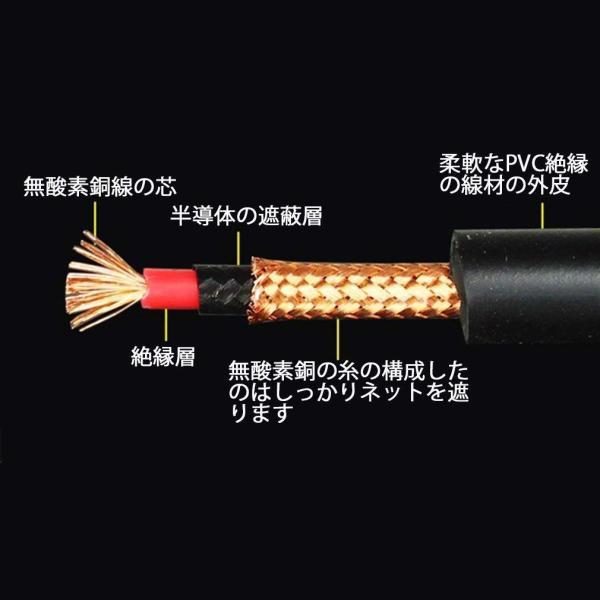 3.5mm ステレオミニプラグ - XLR (メス) アンプ、マイク、ミキサー、プリアンプ、スピーカーシステム、またはその他のプロ用録音用マ